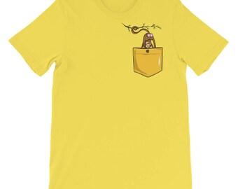 Monkey butt pocket funny t-shirt