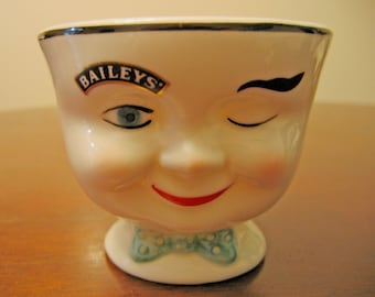 Bailey's Irish Cream Collectible Cup, Drinking Cup, Limited Edition Cup, St Patty's Day, Ceramic Cup, Winking Cup, Blue Eyes