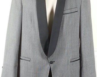 Vtg Made in USA tuxedo by Raffinati new without tags never hemmed pants size 38 40 long chest 42