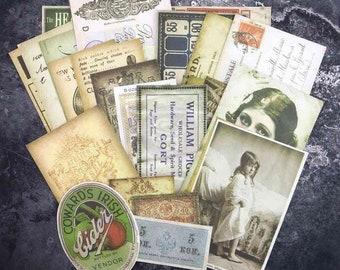 Prima Finnabair EPHEMERA MELANGE 28 Pieces 962883