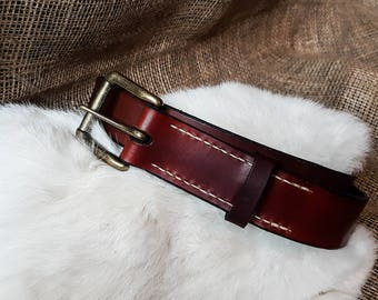 Journeyman Leather Belt