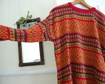 Carnivale Oversize Vintage Sweater