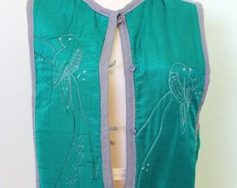 Reversible Bird Vest