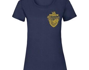 Harry Potter House Crest T-Shirt, Gryffindor Crest, Ravenclaw Crest, Slytherin Crest, Hufflepuff Crest Tee by Fitee Print