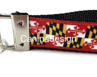 Maryland Keychain, Key fob, Wristlet