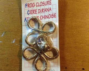 Gold Frog Closure
