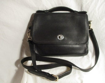 Coach leather cross body