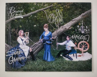 IMPERFECT Signed The Merry Sisters of Fate *5x7* photo print from the 2014 Beyond Words fantasy author calendar