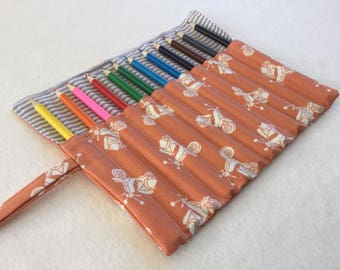 Scooter Pencil Roll