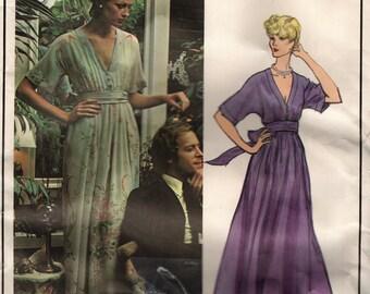 Vogue 2886 PARIS ORIGINAL Nina Ricci robe avec sous le glissement