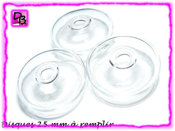 Disque plat 25 mm à remplir