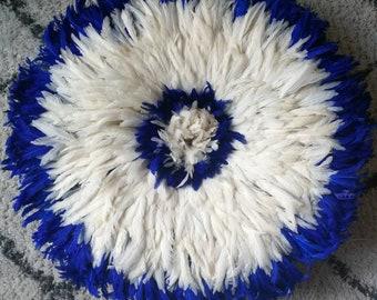 JUJU ecru and blue electric 70 cm