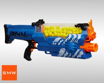 Modified Nerf Rival Nemesis with Lipo battery
