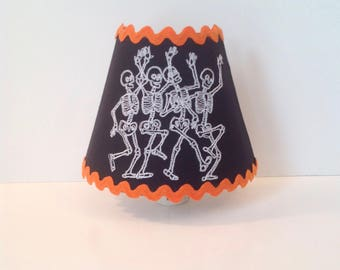 Skellies For Days Black Halloween Night Light  (READY TO SHIP)