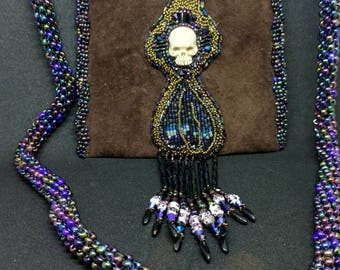 Through the skeleton key hole Laura Mears cabochon
