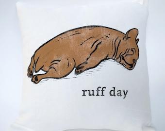 Ruff day cushion cover