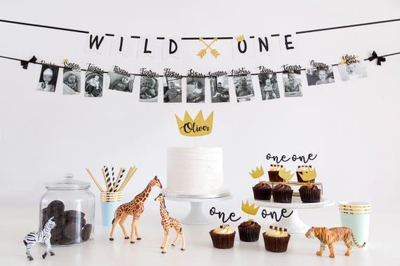 Wild ONE First Birthday Party Decorations Pack