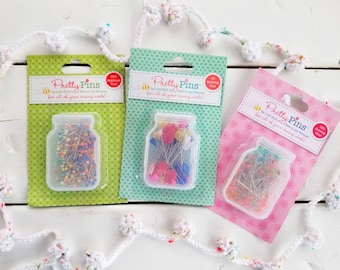 Lori Holt Pins - Applique - Sewing - Quilting- Riley Blake Designs - Penny Rose Fabrics