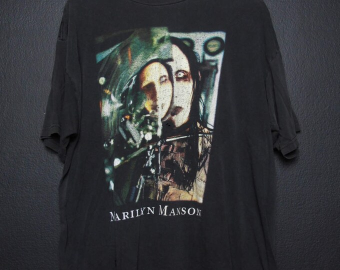 Marilyn Manson Beautiful People 1990s Tshirt