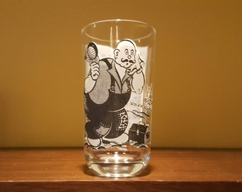 I Been Wukkin' On The Railroad Big Top Peanut Butter Song Glass Tumbler