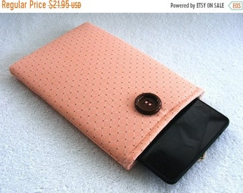 On Sale Now Kindle Fire Cover, IPad Mini Cover, Kindle Fire Case, Mini IPad Mini Case, Nook Cover, IPad Mini Cover, Rose Pink and Brown, 8 1