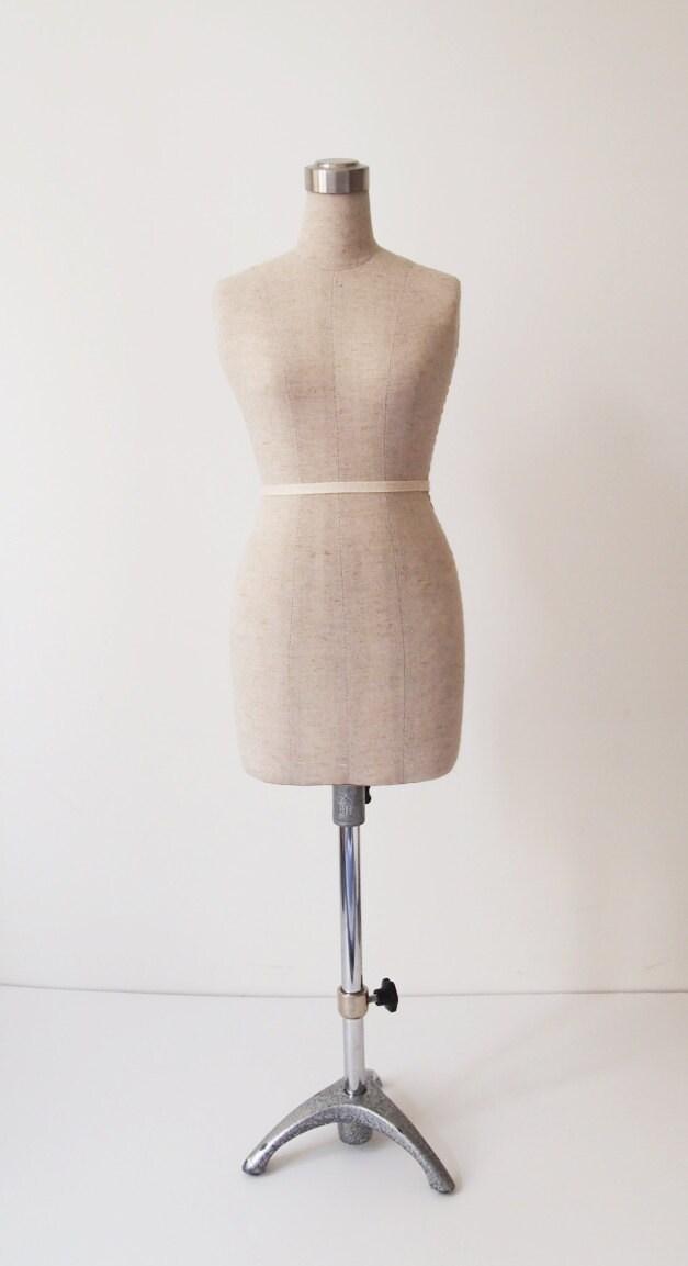 Mini Mannequin Dummy Dress Form Beige