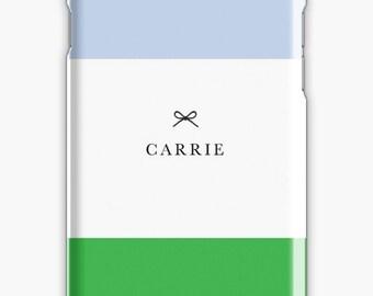 Personalized iPhone 7 Case iPhone 7 plus case iPhone 6s case iPhone X Case Samsung s8 Case Samsung Galaxy Custom Phone Case Green