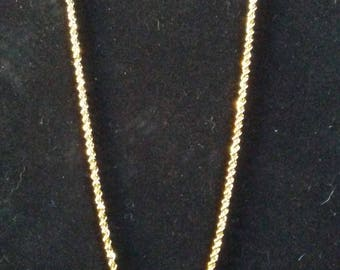 Trifari Faux Gold Rope Chain