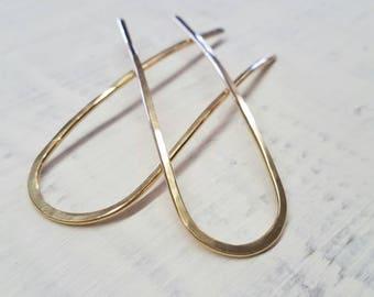 Small Gold Hair Pin Set
