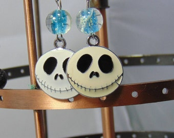 Halloween Happy Skull earrings