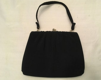 HL (Harry Levine) Black Evening Bag