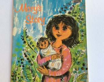 Vintage Children's Book, Mary's Story
