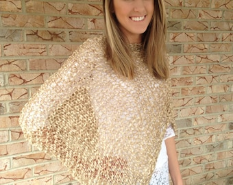 Summer poncho, Womens Poncho, FREE SHIPPING in US