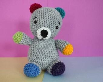 Charlie the Bear - Crochet toy