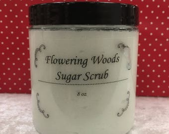 Flowering Woods Sugar Scrub