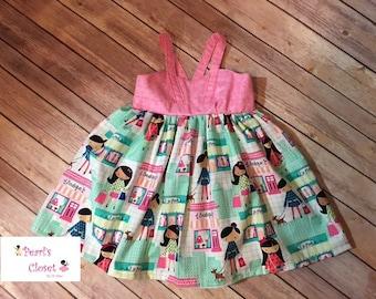 Shopping Girl Maxi Dress or Top