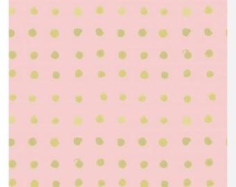 HAIKU by Monaluna - Spots - Organic Fabric (0.25m)