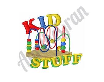 Kid Stuff - Machine Embroidery Design