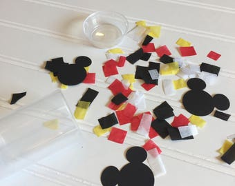 Mickey Mouse Party Favor - Disney Party Popper - Mickey Party Favor - Confetti Popper - Mickey Mouse Confetti - Birthday Confetti Popper