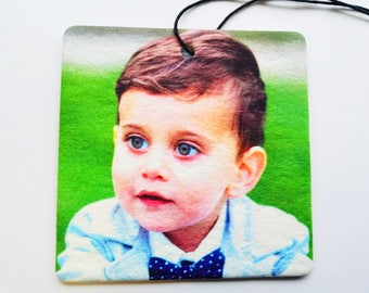 Your Photo On A Square Car Air Freshener
