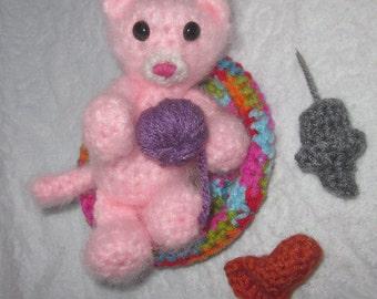 Crochet Pattern - Sweet Little Kitty