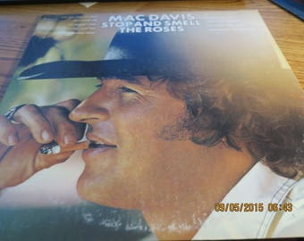 Stop and Smell the Roses Mac Davis Vinyl 74 KC 32582