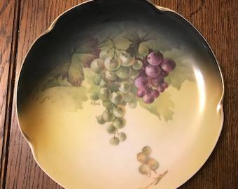 J & C Grape Plate