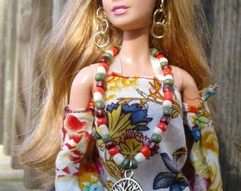 1:6 Barbie Tree of life Necklace