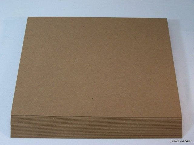 Chipboard sheets pads cardboard for photos