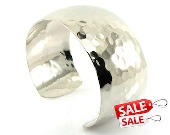 Silver Cuff Bracelet Silver Bracelet Cuff Brass Cuff Bracelet Brass Bracelet Cuff Wide Cuff Bracelet Silver Hammered Bracelet Cuff 006