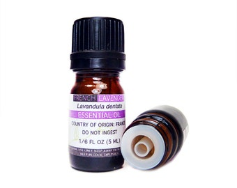 French Lavender Essential Oil, 5ML or 15ML, 100% PURE & Therapeutic Essential Oil
