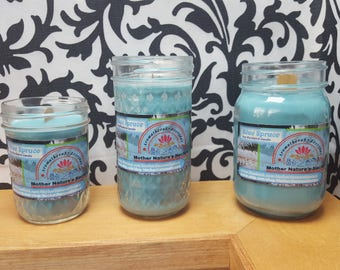 Blue Spruce - 100% Soy Wood wick Candle