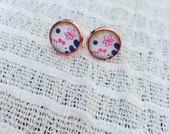 Earrings 3 flowers