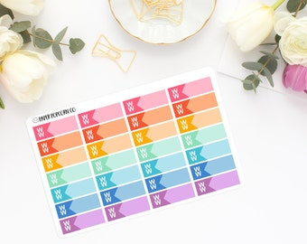 Weight Watchers Tracking Stickers - Erin Condren Vertical Life Planner